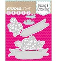 Studio Light - Basics - Cutting & Embossing stencil - STENCILSL39