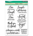 Penny Black - Clearstamp - Happy Wishes