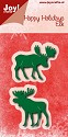 Noor! Design - Happy Holidays - Elk