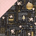 Scrappapier Echo Park - Wedding Bliss - True Love (Gold Foil)