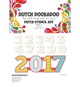 Dutch Doobadoo - Dutch Stencil Art - Numbers 0-9