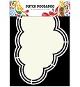 Dutch Doobadoo - Dutch Shape Art - Cloud
