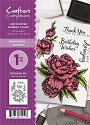A6 Unmounted Rubberstempel - Crafter`s Companion - Beautiful Blooms