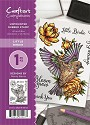 A6 Unmounted Rubberstempel - Crafter`s Companion - Little Birdy