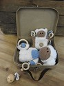 Funny`s haken - Baby set incl koffer