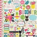 Echo Park - Summer Fun - Cardstock Stickers