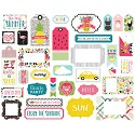 Echo Park - Summer Fun - Ephemera Cardstock Die Cuts