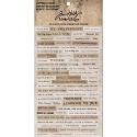 Tim Holtz - Idea-Ology - Clippings Stickers 4.75