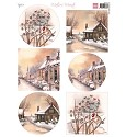 PRE-ORDER 2 - Marianne Design - Knipvel - Mattie`s Mooiste Winter Villages