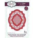 Stansmal Creative Expressions - The Festive Collection - Holly Lattice Frame