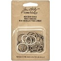 Tim Holtz - Idea-Ology Mini Book Rings .75