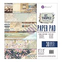 Prima Marketing - St. Tropez - Paperpad 30,5 x 30,5 cm (30/pkg)