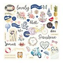 Prima Marketing - St. Tropez - Ephemera Cardstock Die-Cuts