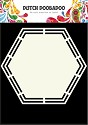 PRE-ORDER 3 - Dutch Doobadoo - Dutch Shape Art - Hegaxon