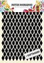 Dutch Doobadoo - Dutch Softboard Art - Diamonds A5