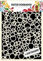 PRE-ORDER 3 - Dutch Doobadoo - Dutch Softboard Art - Bubbles A5