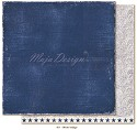 Scrappapier Maja Design - Denim & Friends - Worn Indigo