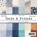 Maja Design - Denim & Friends - Paperpad 6
