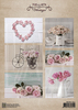Nellie Snellen - Vintage decoupage sheets Wedding roses