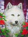 Diamond Dotz - 45,7x35,5cm - White Wolf - D7.007