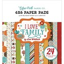 Echo Park - Paper Pad - I love Family - 6