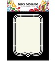 PRE-ORDER 6 - Dutch Doobadoo - Dutch Shape Art - Tag