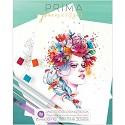 Prima Marketing - Watercolor Coloring Book - 8