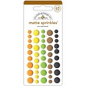 Doodlebug - At the Zoo - Sprinkles Adhesive Matte Enamel Dots 45/Pkg