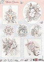 Marianne Design - Knipvel Els Weesenbeek - Winter Dream pink