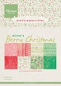 Marianne Design - Paperpad A5 - Berry Christmas