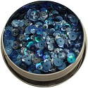 28 Lilac Lane - Tin with Sequins 40g - Demin Blues