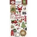 Echo Park - A Perfect Christmas - Chipboard Accents 6