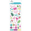 Prima Marketing - Nature garden Alphabet stickers - Typo 8x10
