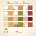 Scrappapier PION Design - Summer Falls into Autumn - COMPLETE COLLECTIE