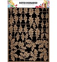 Dutch Doobadoo - Dutch Paper Art - Kraft leaves 3