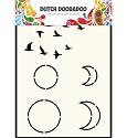 Dutch Doobadoo - Dutch Mask Art - A6 Sky