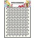 Dutch Doobadoo - Dutch Mask Art - A5 Geomatric Square