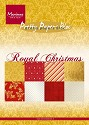 Marianne Design - Paperpad - Royal Christmas