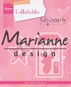 Marianne Design - Collactables - Giftwrapping - Karin`s deer, stars & tags