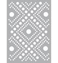 Pronty - Mask stencil - A5 Dots Pattern
