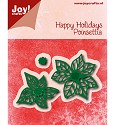 Noor! Design - Happy Holidays - Poinsettia (kerstster)
