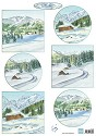 Marianne Design - Knipvel - Tiny` Winterlandschapjes 1