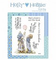 Rubber stamp Crafter`s Companion - Holly Hobbie - Wish Big
