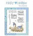 Rubber stamp Crafter`s Companion - Holly Hobbie - New Adventures