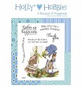 Rubber stamp Crafter`s Companion - Holly Hobbie - A Bouquet of Happiness