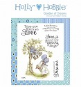Rubber stamp Crafter`s Companion - Holly Hobbie - Garden of Dreams