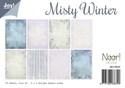 Noor! Design - Paperpad A4 - Misty Winter