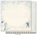 Scrappapier Maja Design - Joyous Winterday - Snowball Fight