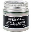 Finnabair Art Alchemy - Acrylic Paint 1.7 Fluid Ounces - Opal Magic Violet/Green