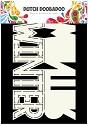 PRE-ORDER 6 - Dutch Doobadoo - Dutch Card Art - Text